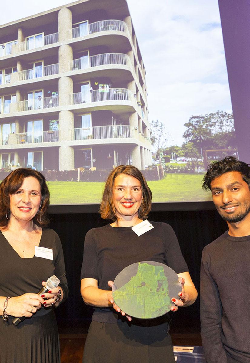 Tuinhuis Almere wint Architectuurprijs Almere 2018
