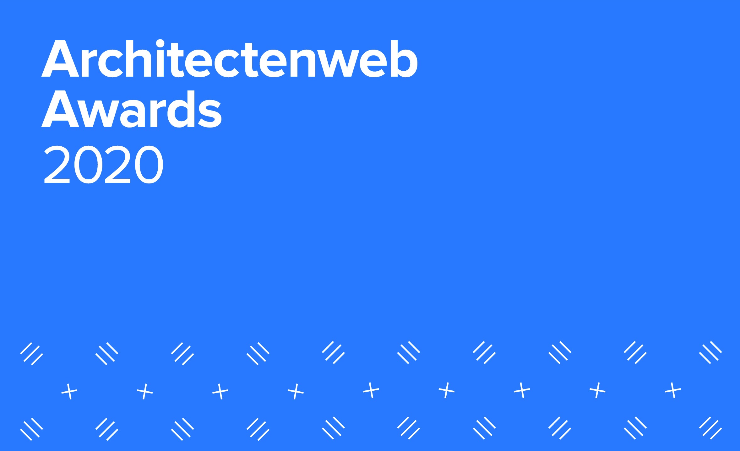 Gus Tielens proud to be part of the jury Architectenweb Awards 2020