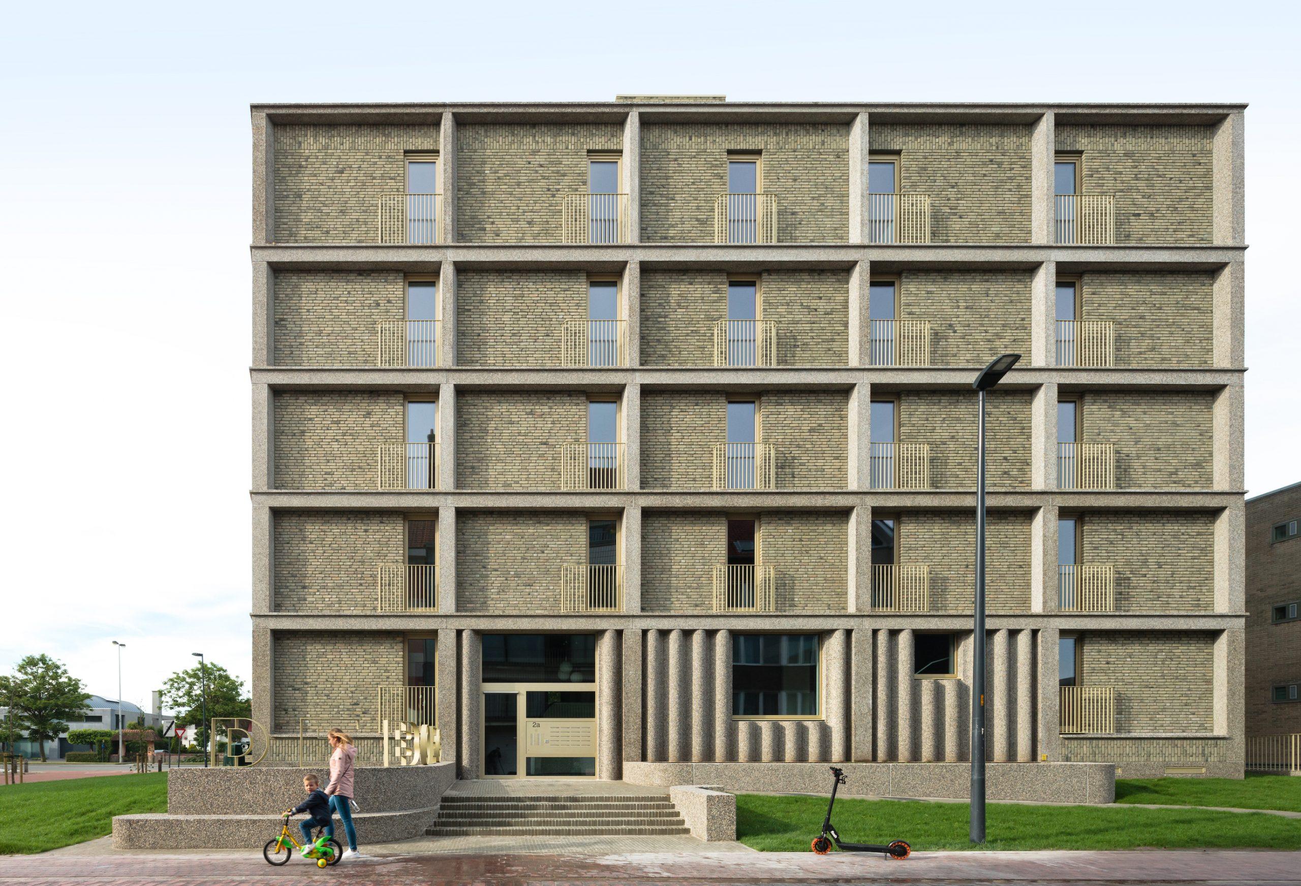 Housing Oostende on Baunetz
