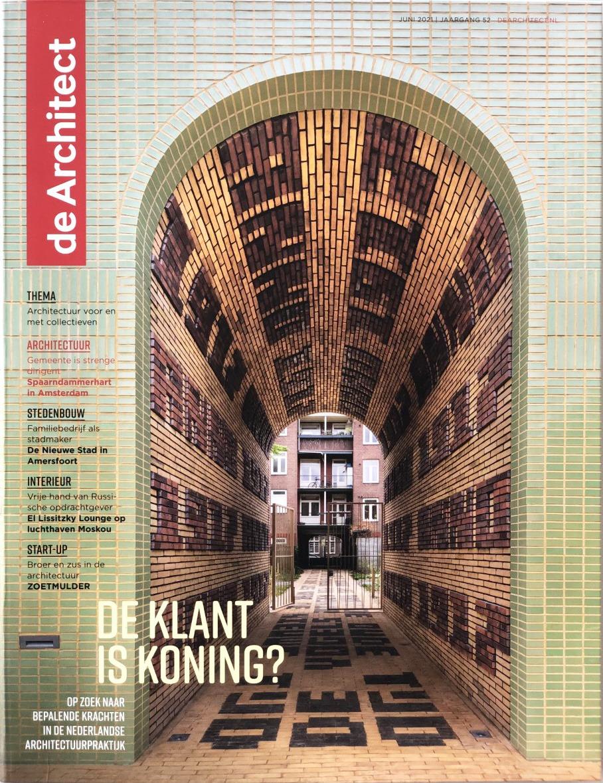 06 2021 | Spaarndammerhart cover image of De Architect