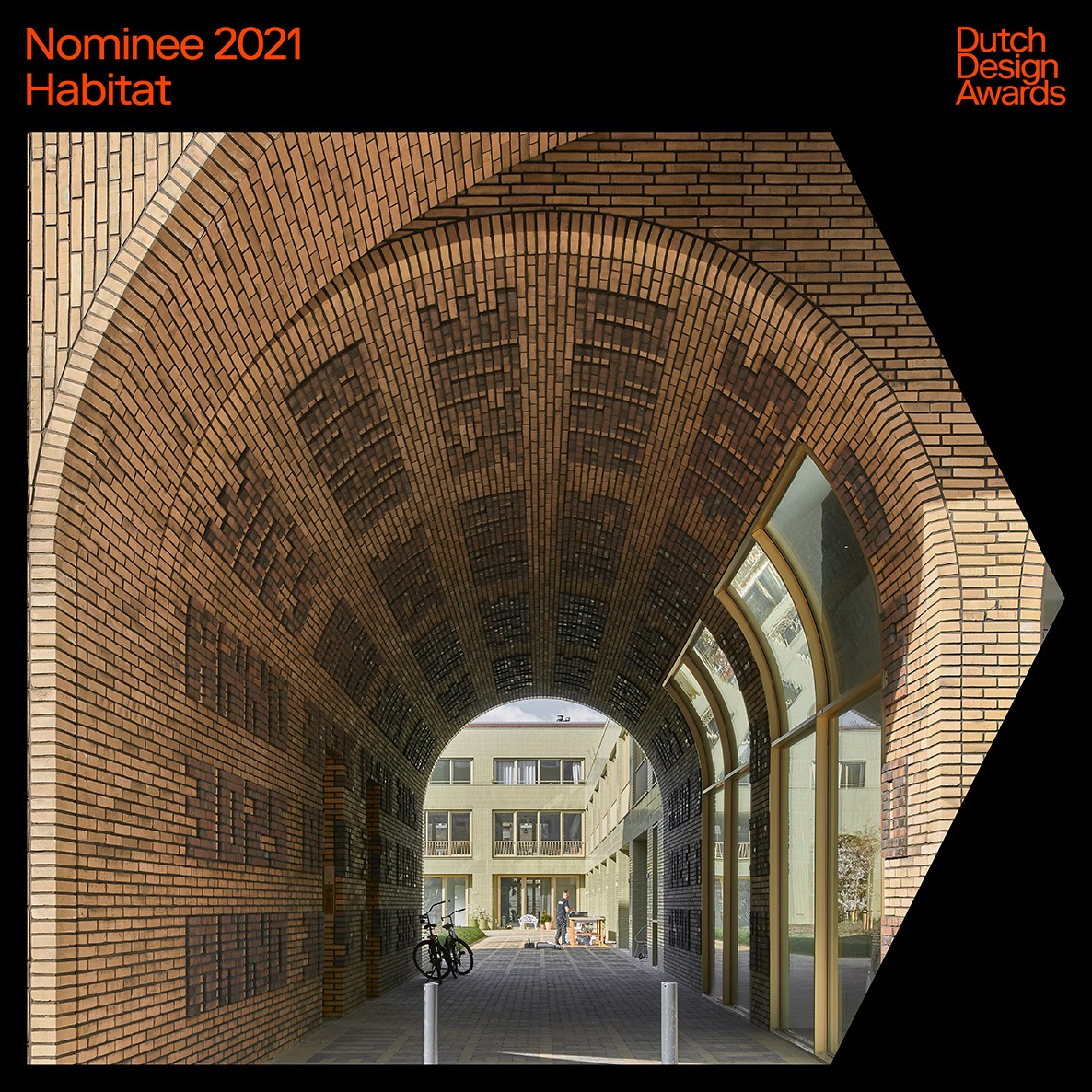 Spaarndammerhart nominated for the Dutch Design Awards 2021 category Habitat